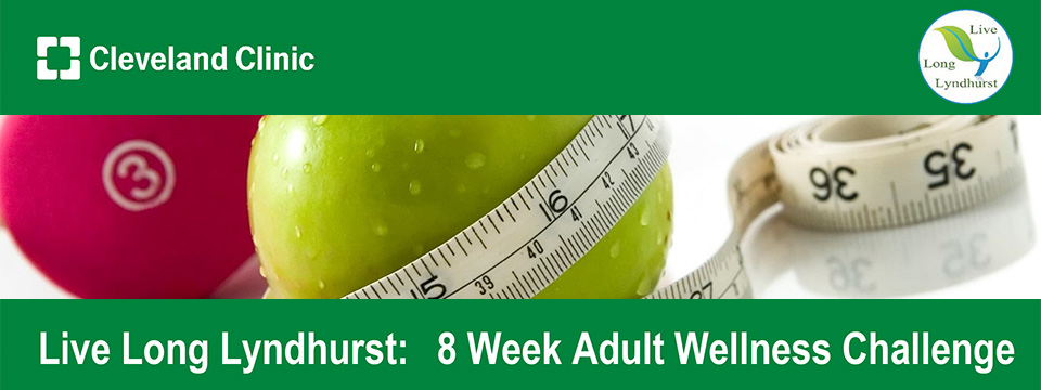 Live Long Lyndhurst 8 Week Adult Wellness Challenge Every Thursday at the Hillcrest YMCA October 5th 2017 to November 30th 2017 - Live Long Lyndhurst: A Health and Wellness Initiative