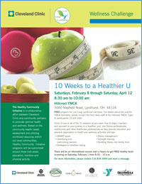 Ten Weeks To A Healthier U